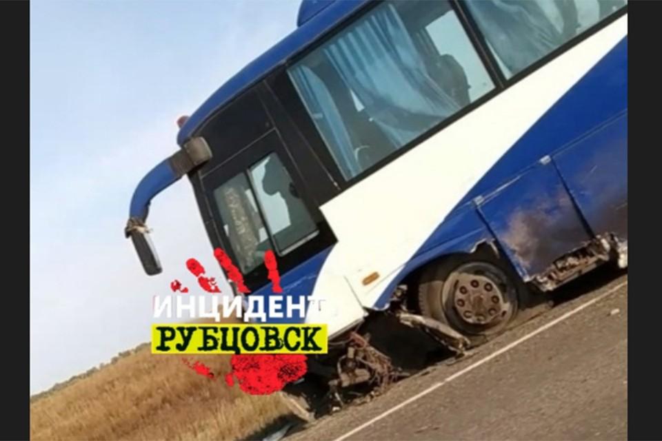 Авария на федеральной трассе