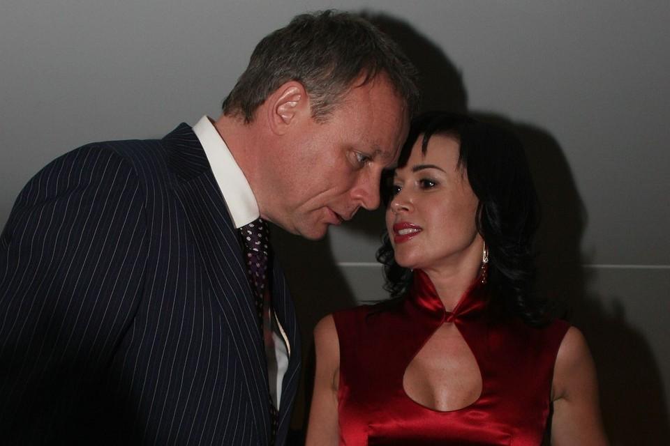 Сергей Жигунов встречался с Анастасией Заворотнюк с 2004 по 2008 годы
