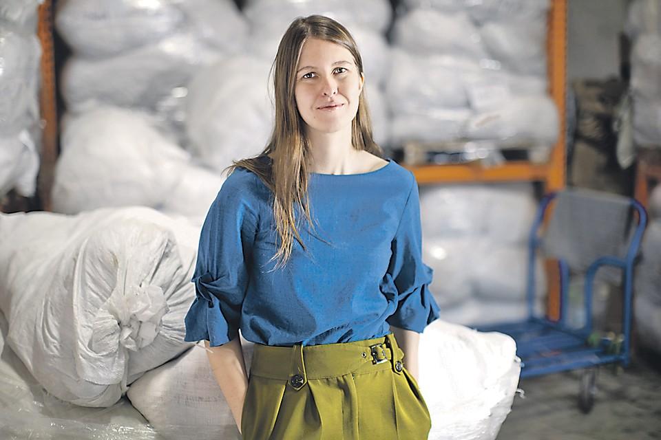 Основательница проекта Charity Shop Дарья Алексеева. Архив Charity Shop