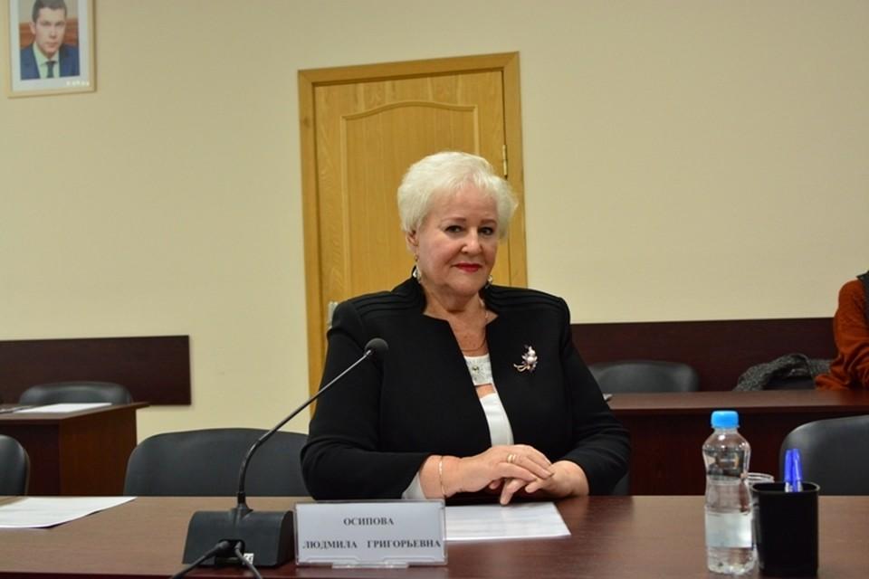 Людмила Осипова не стала скрывать, что ждет от суда справедливости.