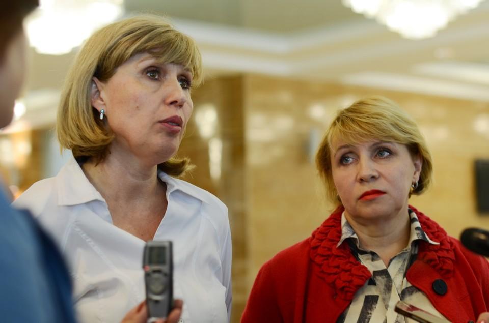 Светлана Красицкая (слева) и Наталья Снитко