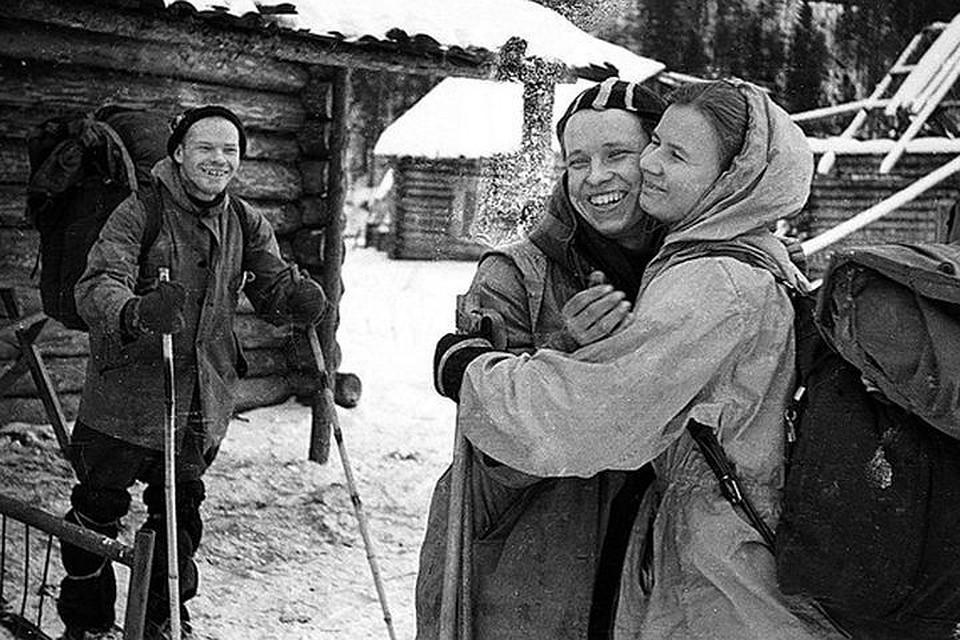 Одна из последних фотографий сделанных группой Игоря Дятлова перед гибелью. Фото: из материалов дела 1959 года.