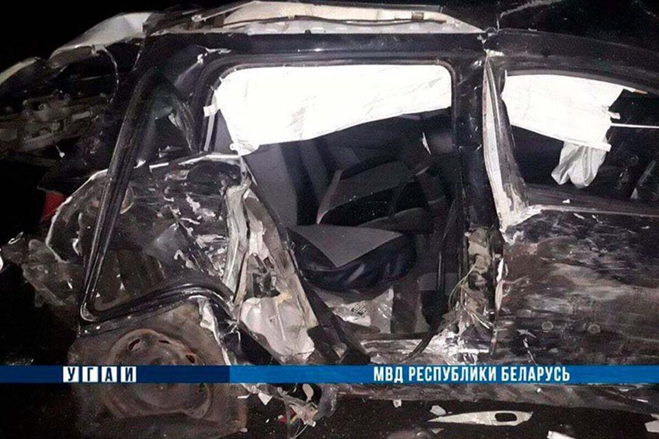 В аварии пострадали четыре человека. Фото: МВД.