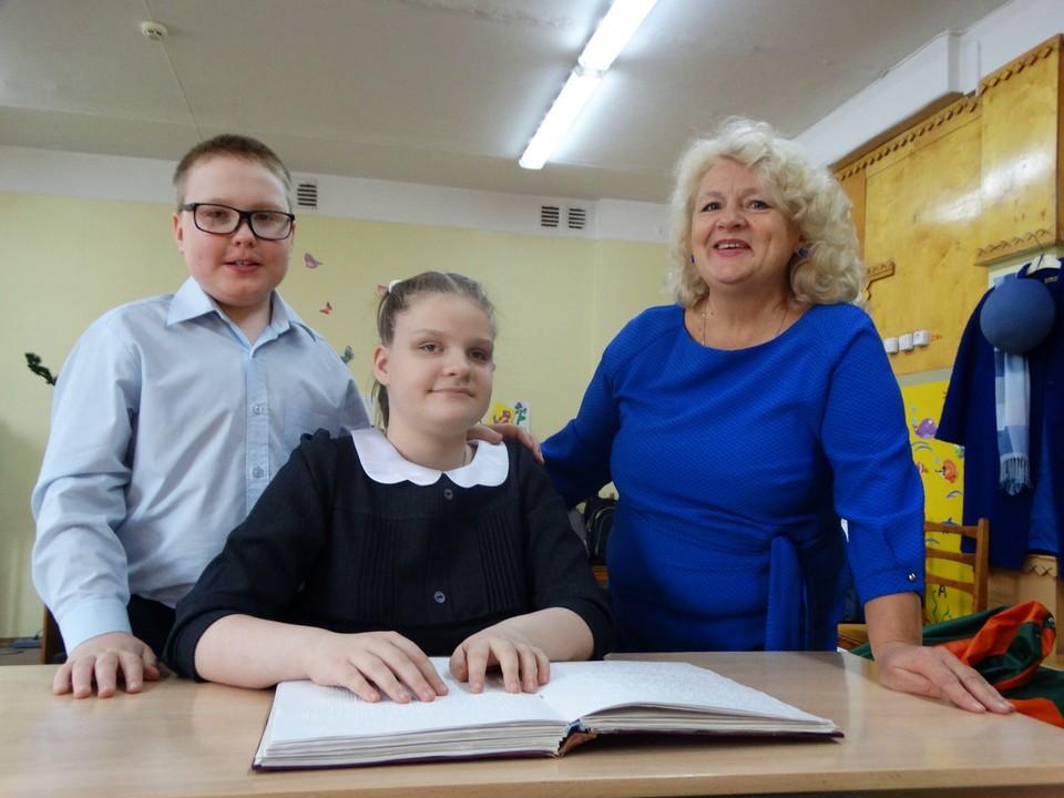В сыктывкарской школе № 18 дети с особым образовательными потребностями учатся вместе с обычными ребятами