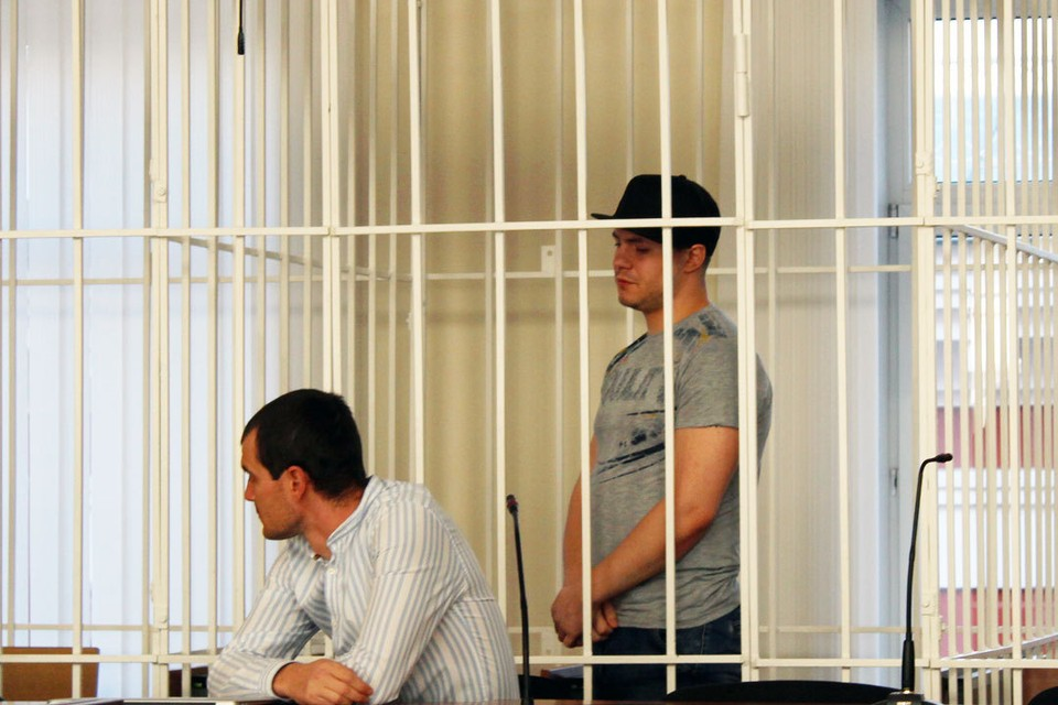Обвиняемый Евгений Кочергин