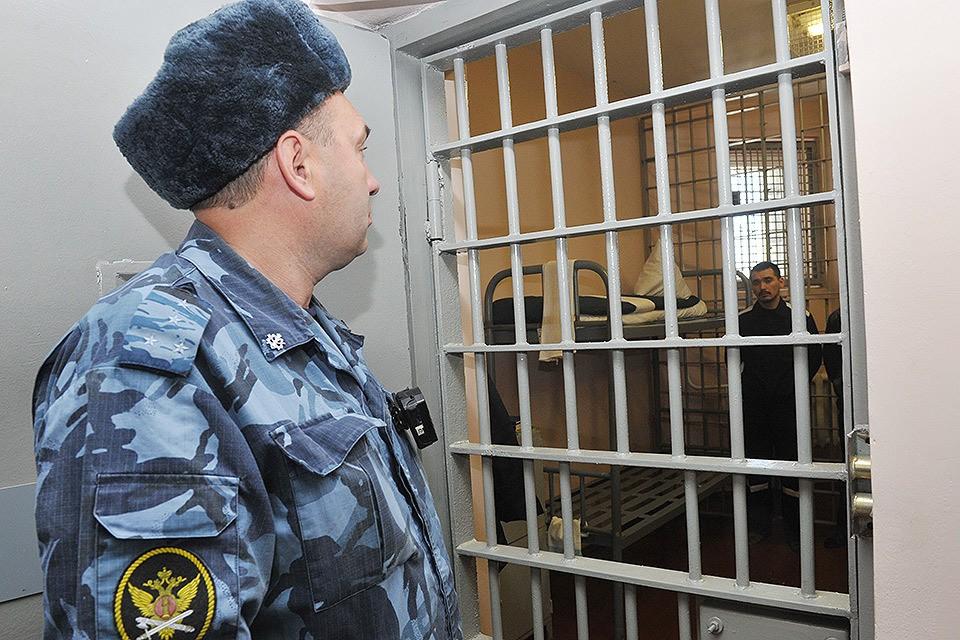 В помещениях колонии особого режима `Снежинка`для заключенных с пожизненным сроком.