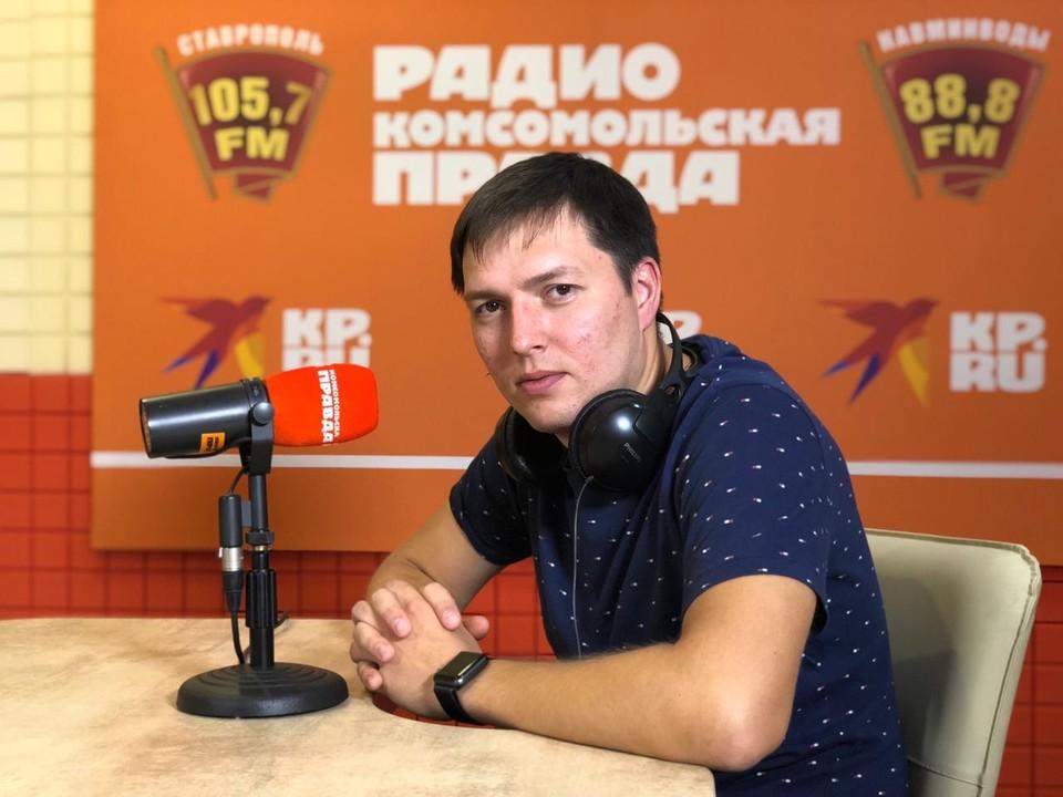 Врач отделения рентгенохирургических методов лечения и диагностики СККБ Николай Писаренко.