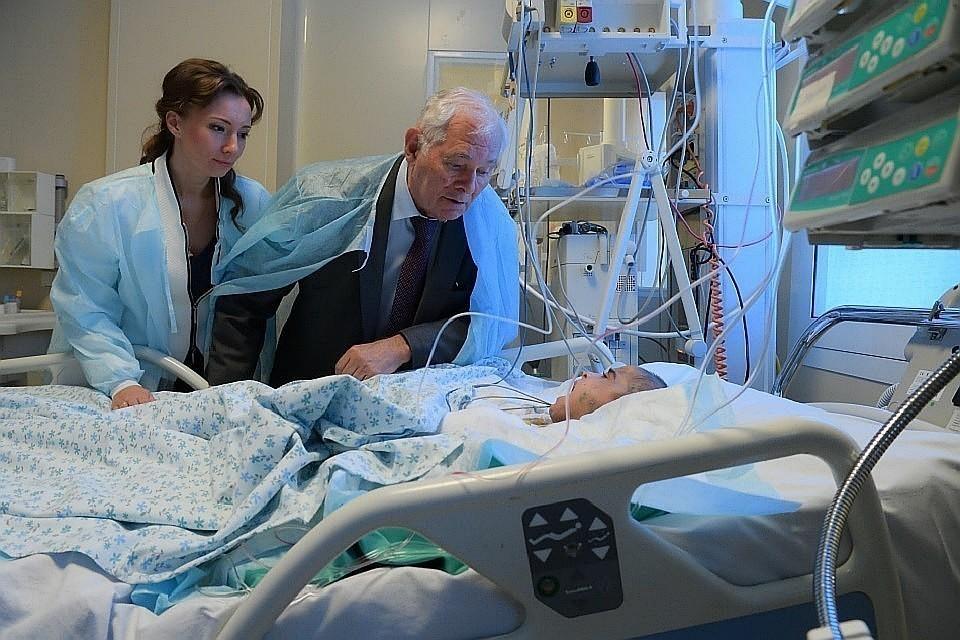 Ребенку уже лучше, но конец лечение еще не скоро
