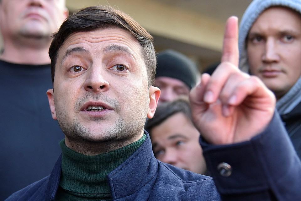 Зеленский рассказал об условии отвода украинских войск в Донбассе