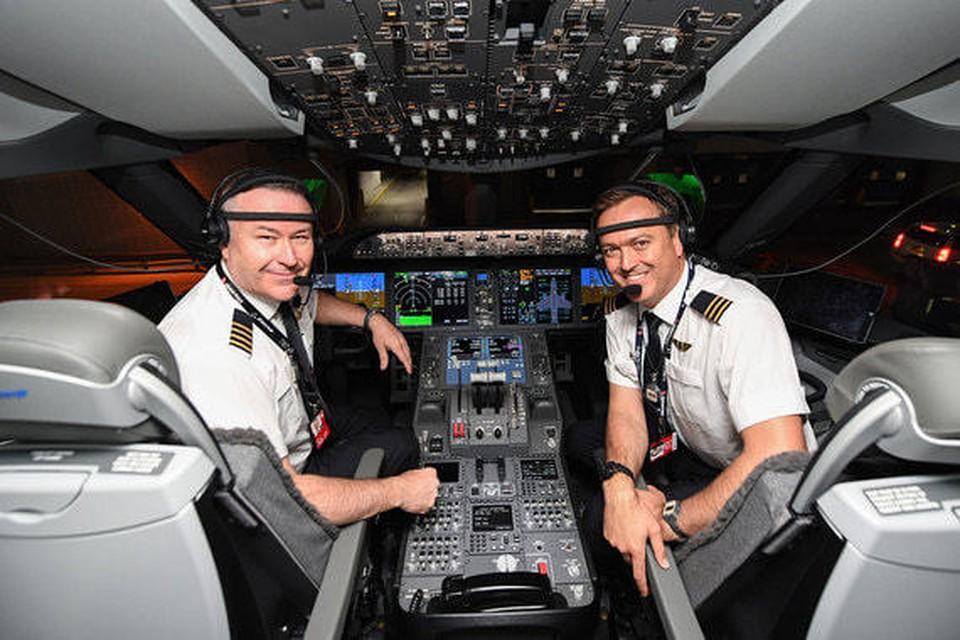 Экипаж самолета. Фото: Qantas Airways.