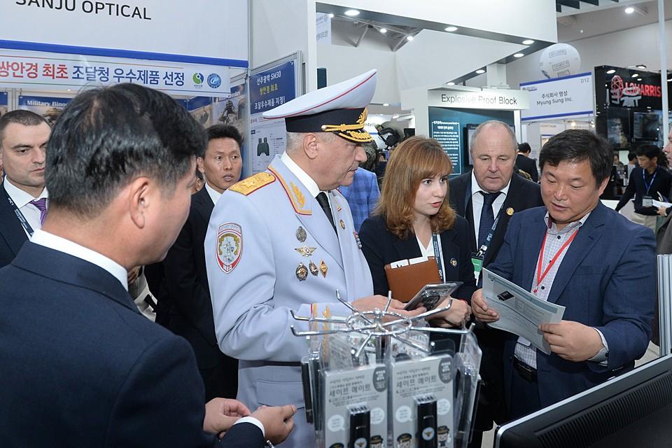 Само мероприятие состоялось в день 74-летия образования полиции Республики Корея и было посвящено теме «Глобальное партнерство полиции в современных условиях». ФОТО: МВД РФ