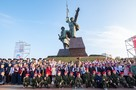 Севастопольских школьников посвятили в юнармейцы