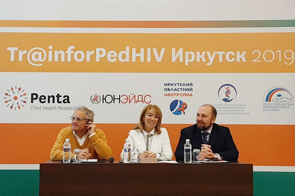 Лечение ВИЧ-инфекции у детей: специалисты мирового уровня в Иркутске обменялись опытом. Фото: из архива ГБУЗ ИОЦ СПИД