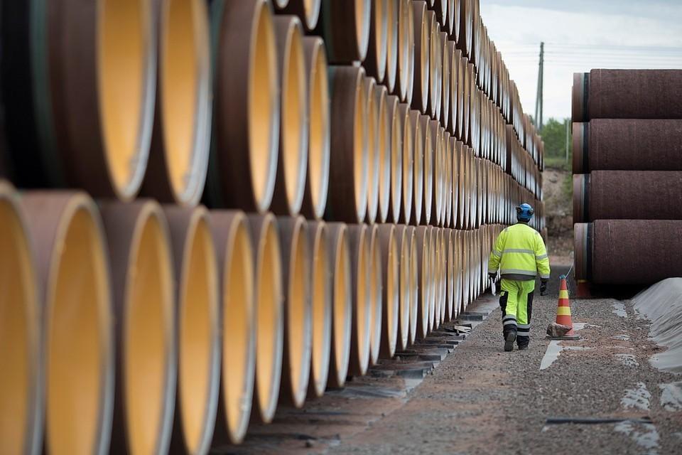 Кремль назвал условия возобновления поставок газа из России на Украину
