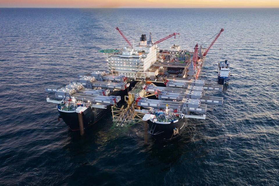 Дания дала разрешение на прокладку трубопровода «Северный поток-2» на своем континентальном шельфе