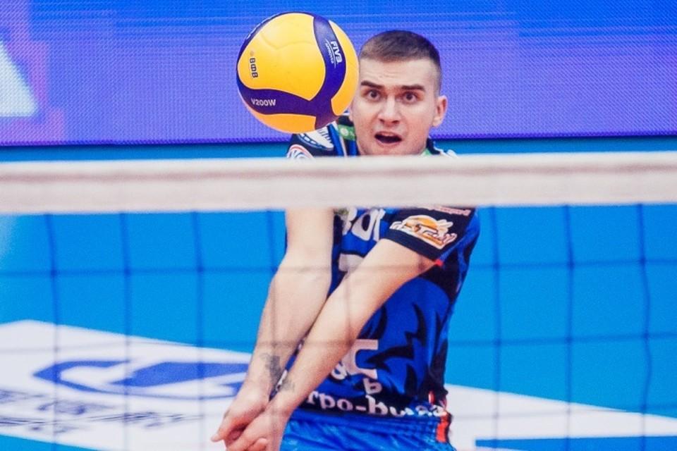 Волейбольный «Кузбасс» выиграл первый матч Чемпионата России.ФОТО: kuzbass-volley.ru