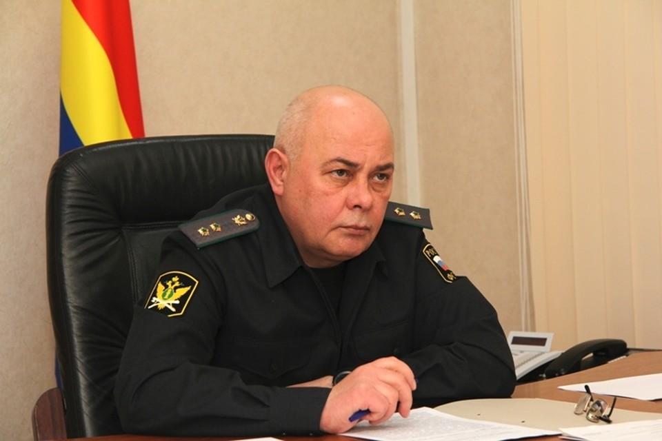 Главный судебный пристав Калининградской области Валериан Жеребятьев.