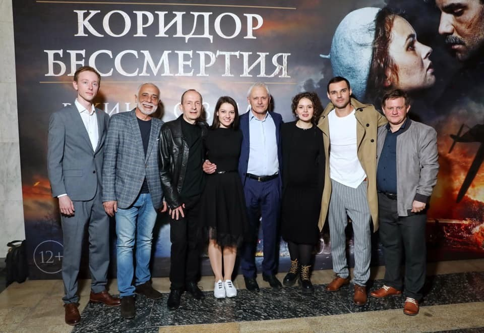 Фотография с премьеры фильма, которая состоялась 24 апреля в Музее Победы. Фото: из архива Залима Мирзоева
