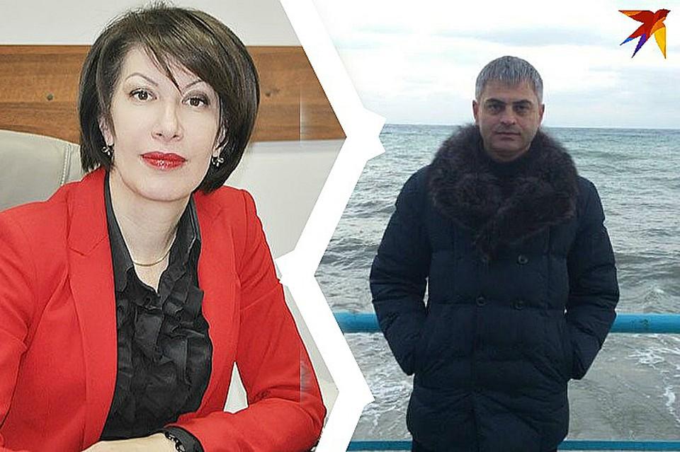 Ирина Дзгоева и Ибрагим Габанов Фото:
