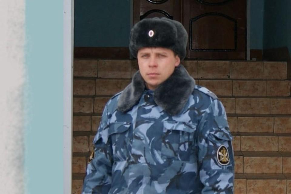 Прапорщик не считает, что он совершил что-то героическое. Фото: ГУФСИН по Пермскому краю.
