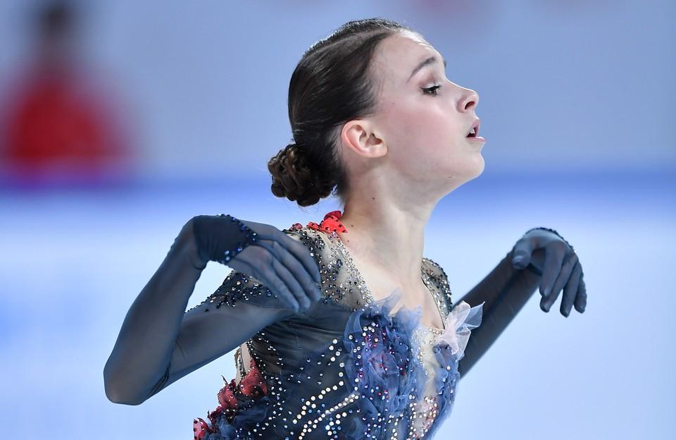 Анна Щербакова - первая на Гран-При Китая.