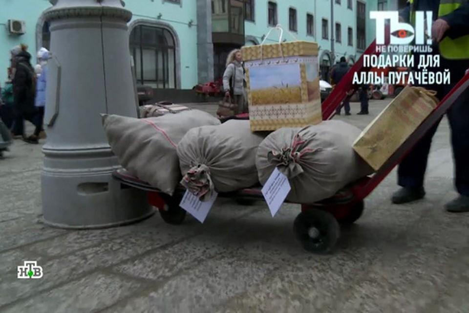 К мешкам картошки прилагалась инструкция, как ее лучше готовить. Фото: ntv.ru