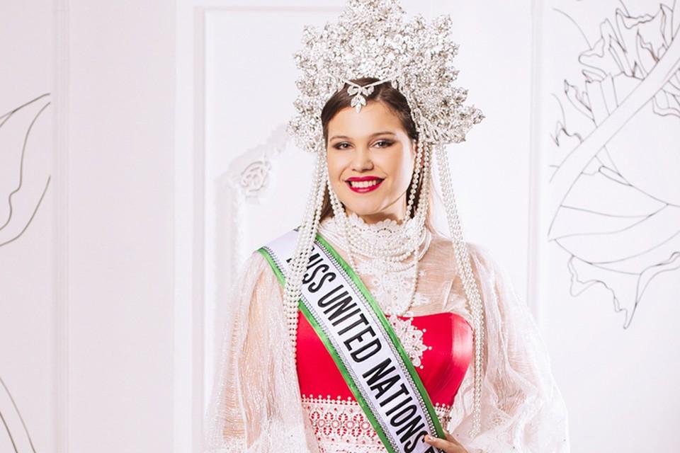 Организатор конкурсов красоты Дарья Цыбина сама стала участницей подобного конкурса. Фото: Ольга Семенова.