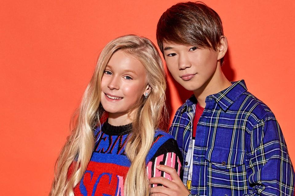 Татьяна Меженцева и Денберел Ооржак представят Россию на детском Евровидении.
