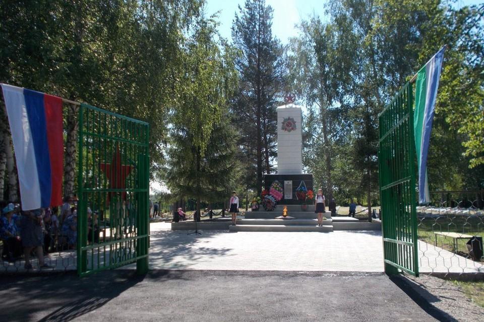 Мемориал в селе Шафраново