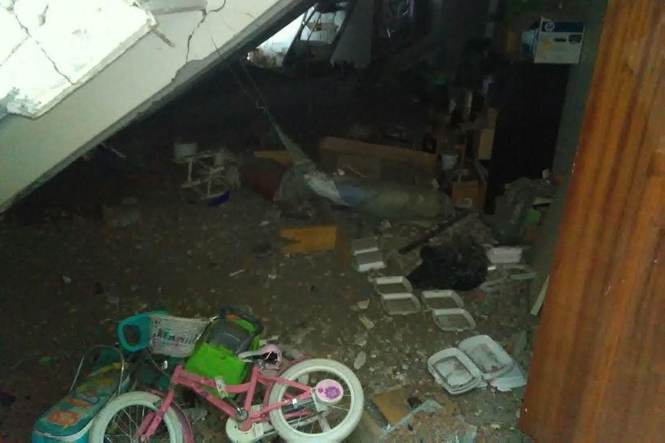 ЧП произошло около восьми утра. Фото Саратовской областной службы спасения