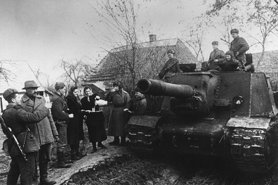 Красная армия в Словакии