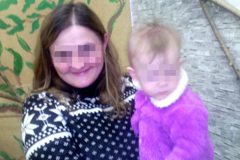 Юля пыталась спасти дочку и сына. Фото: соцсети.