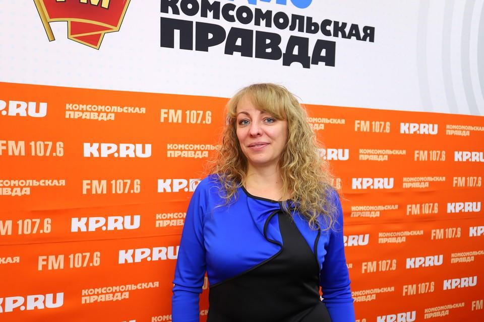 """Начальник торгового отдела компании """"Ижторгметалл"""" Алёна Басова"""