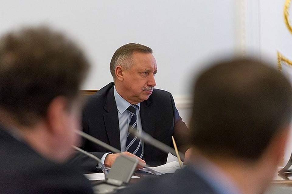 Поправка Александра Беглова в бюджет Петербурга на 2020 год увеличивает доходы на 10 млрд, а расходы – на 26,3 млрд