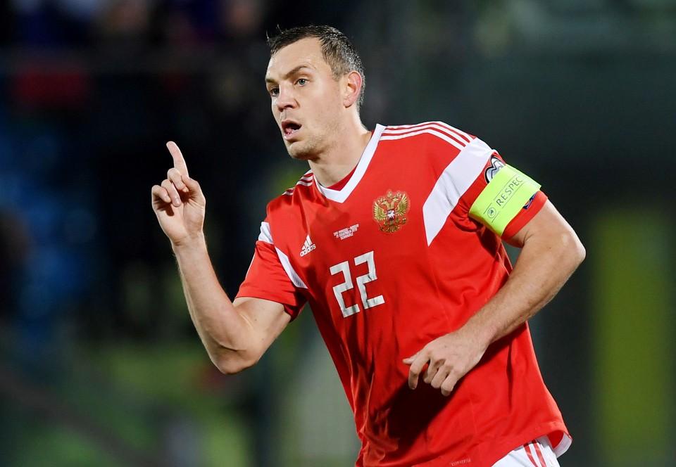 Россия выиграла у Сан-Марино последний матч отбора Евро-2020.