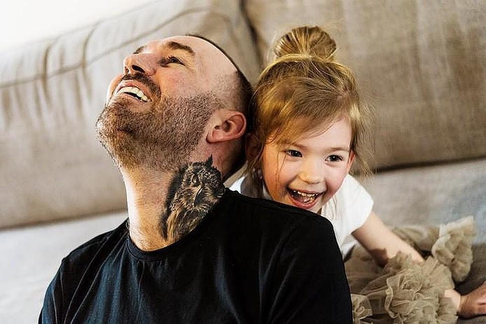 Фернандо Риксен больше всех на свете любил свою маленькую дочку. Фото: Личный архив