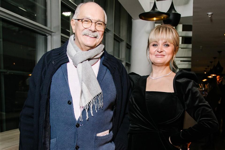 Анна и Никита Михалковы