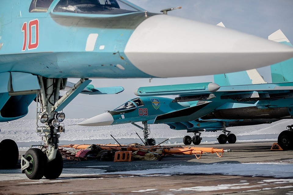В Челябинске появилась вторая эскадрилья Су-34.