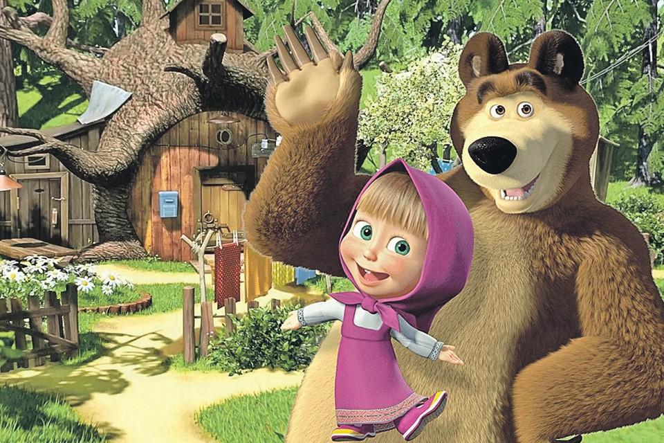 Кто-то считает Машеньку и ее косолапого друга национальным достоянием, кто-то - угрозой... Фото: Кадр из мультфильма