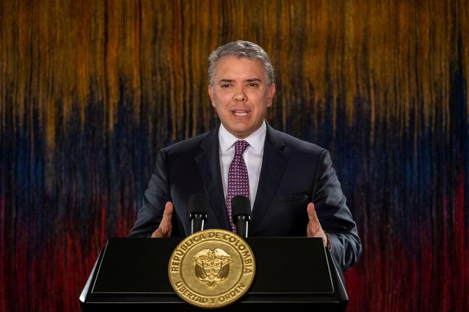 Президент Колумбии Иван Дуке.