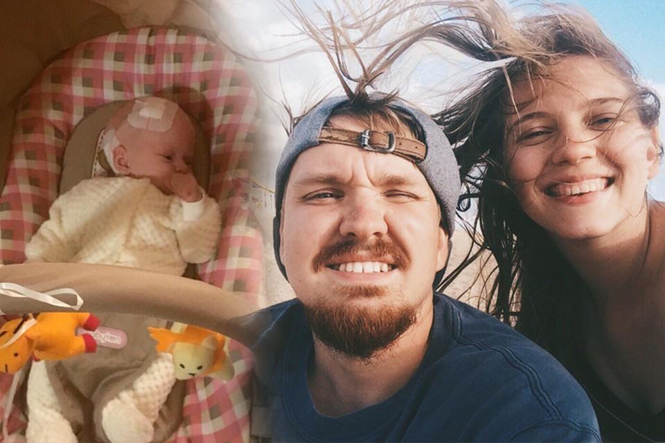 В семье Романенко родилась дочь Вера. Фото героев публикации