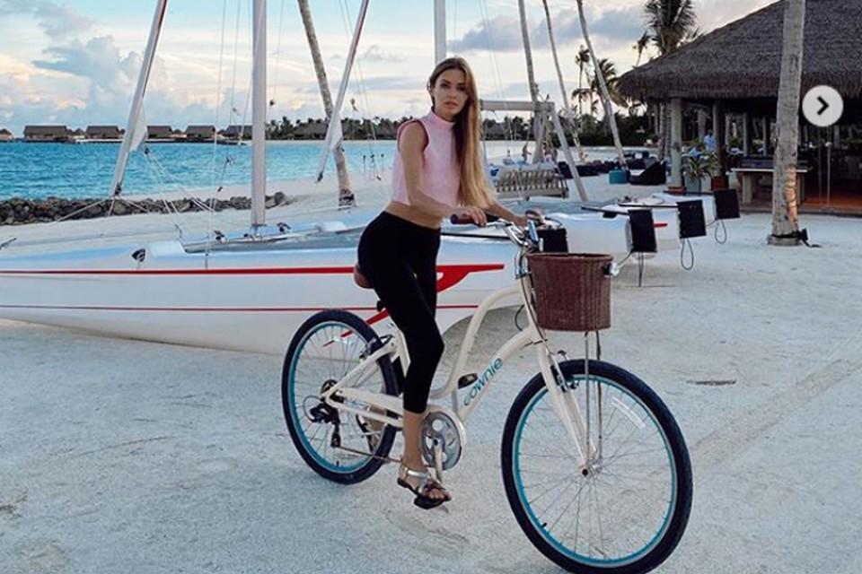 Виктория Боня отдыхает на Мальдивах. Фото: Инстаграм.