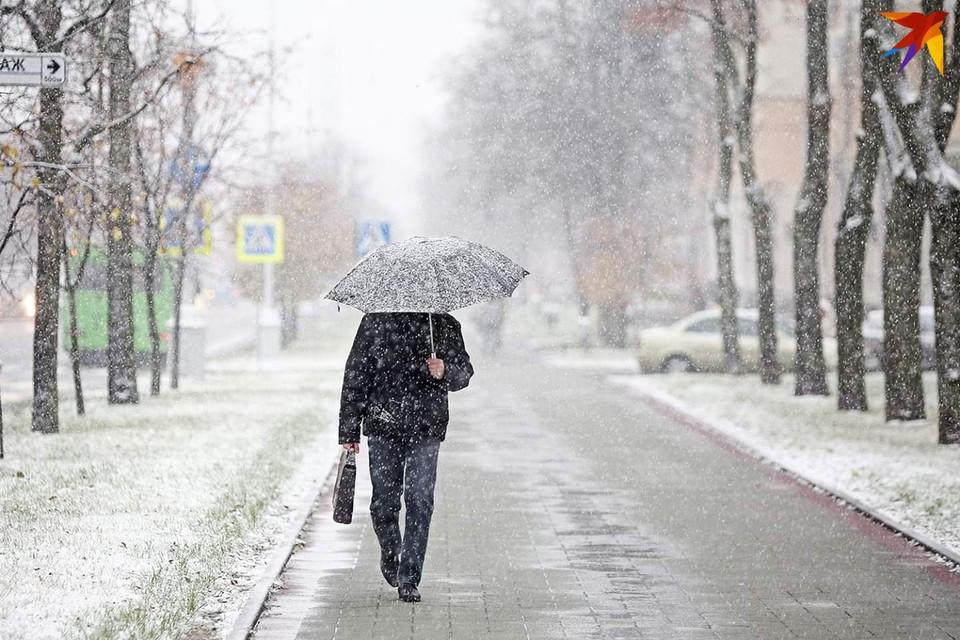 В Беларусь пришла зима.