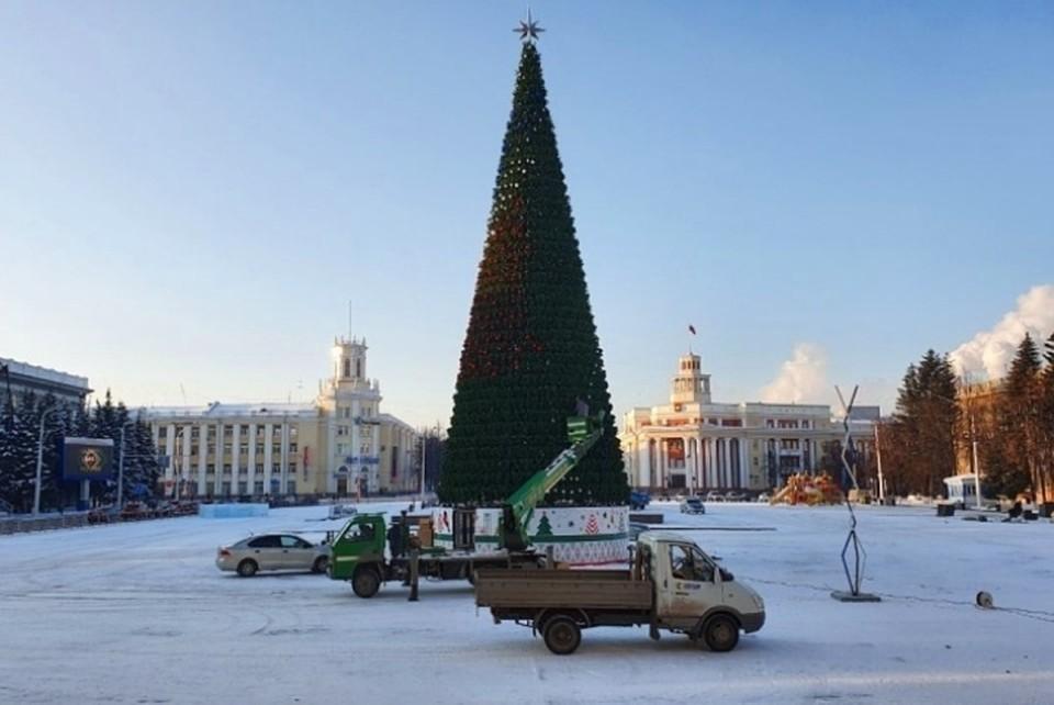 Илья Середюк рассказал, почему новая кемеровская ель такая дорогая