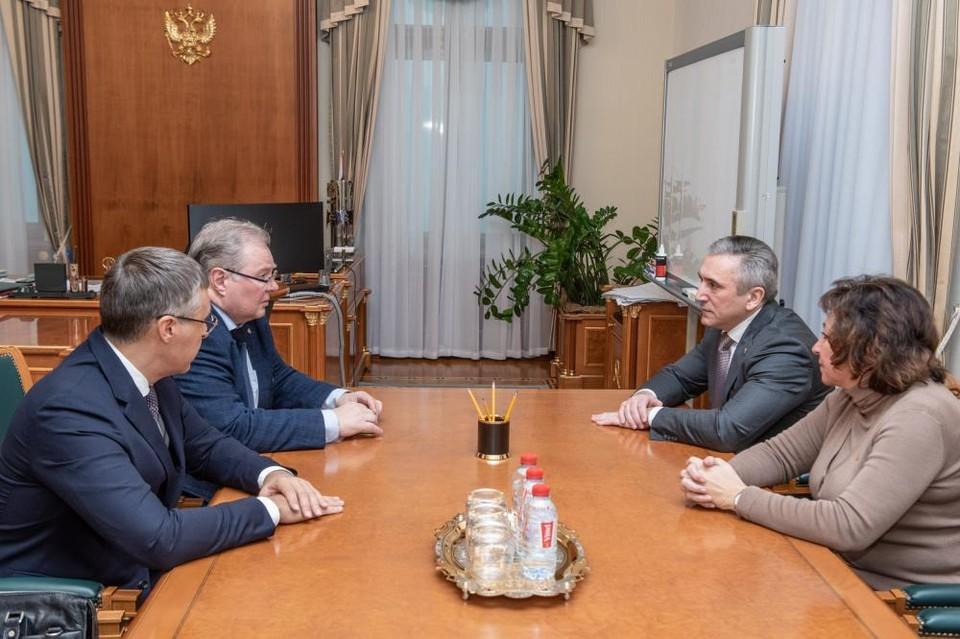 Александр Моор: Тюменская область готова к сотрудничеству с партнерами по созданию Научно-образовательного центра мирового уровня