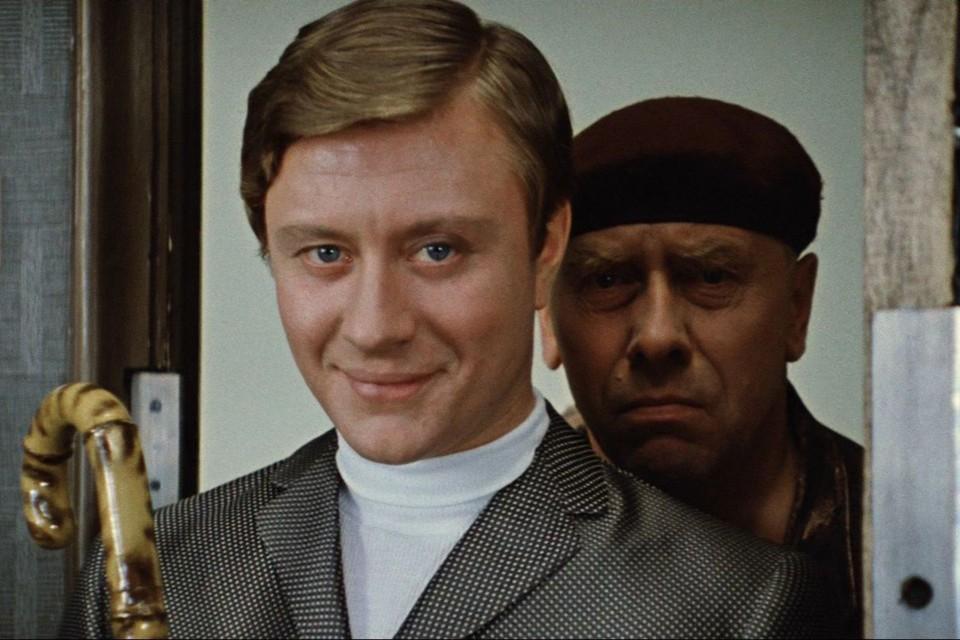 Папанов и Миронов: блестящий тандем советского кино (кадр из комедии «Бриллиантовая рука», 1968). Фото: Кадр из фильма