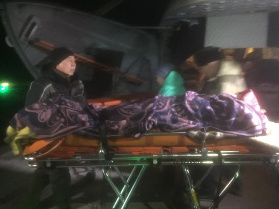 Беременная была одним из шести пассажиров вертолета санавиации Фото: правительство Забайкальского края
