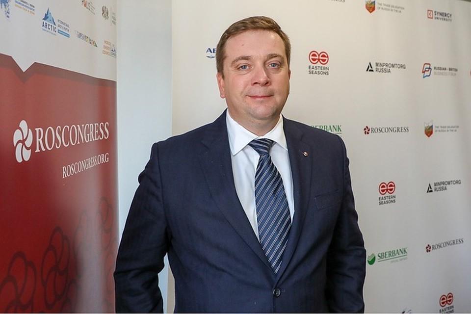 Председатель правления, директор Фонда Росконгресс Александр Стуглев. Предоставлено Фондом Росконгресс