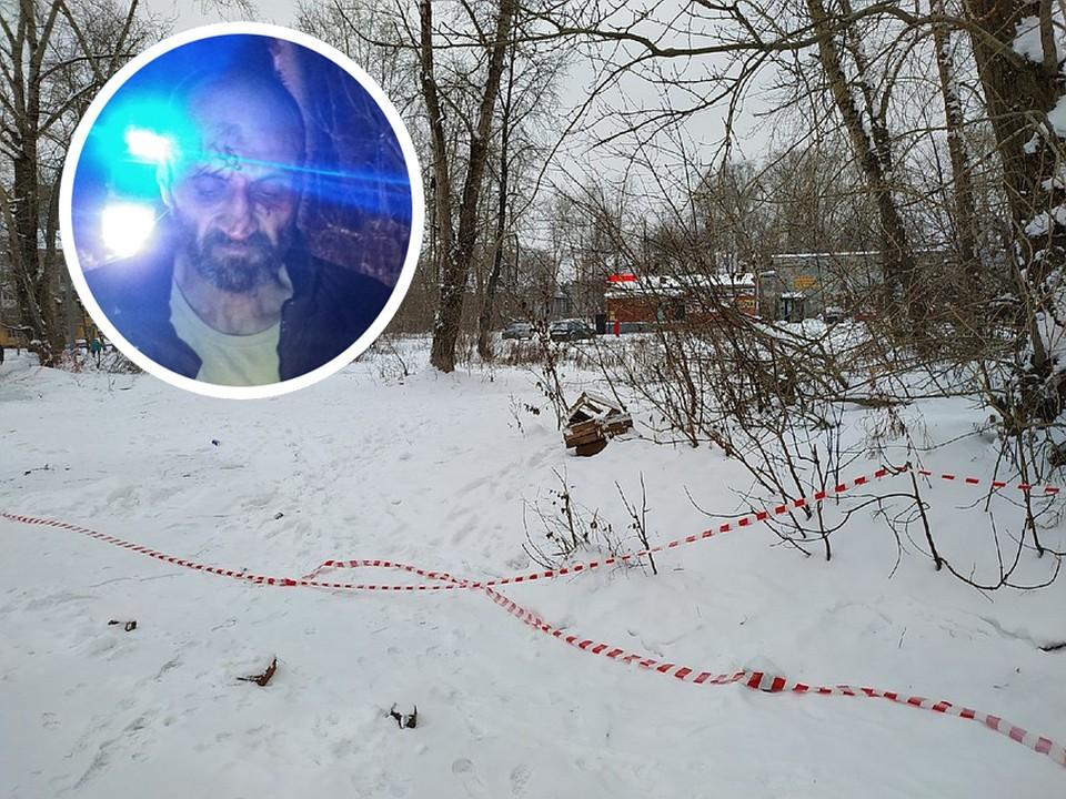 """Фото задержанного стрелка из группы """"Гайва Live"""" и фото с места, где убили женщину"""