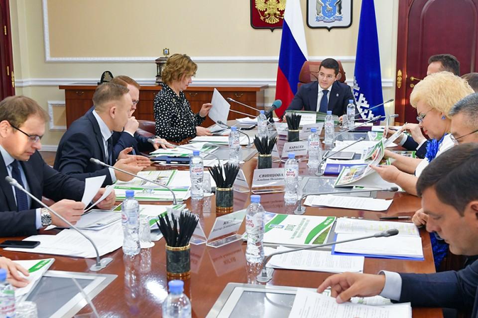 Глава Шурышкарского района представил губернатору перспективы муниципалитета Фото: yanao.ru